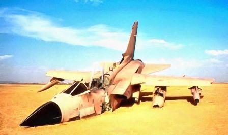 База самолетов в ираке в пустыне
