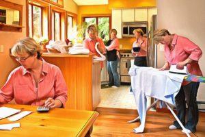 труд домохозяйки