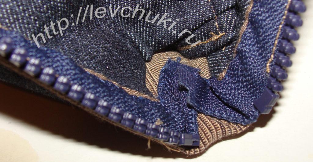 джинсовый кошелек