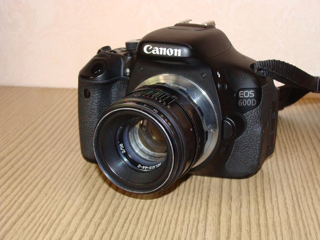 Гелиос 44 2 +Canon 600D