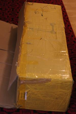 электрический самокат Kugoo M3 - коробка