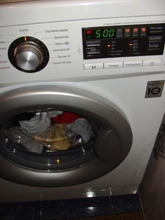 LG F12B8WDS7 стиральная машинка