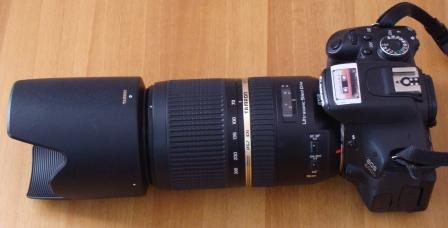 объектив Tamron SP 70-300MM F 4-5.6 Di VC USD
