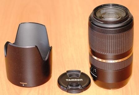 Tamron SP 70-300MM F 4-5.6 Di VC USD объектив