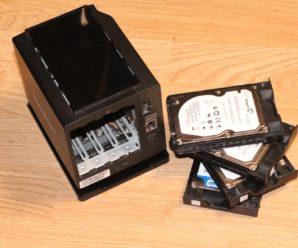 Самый маленький в мире NAS Synology DS409 slim