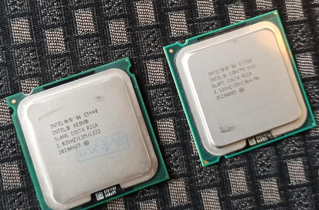 Core 2 DUO E7200 и Xeon E5440