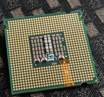 Xeon E5440 внутренняя сторона