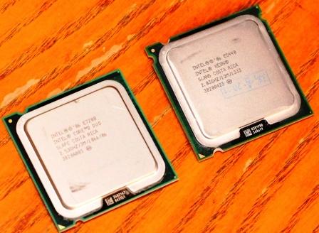 Xeon E5440 и Core DUO