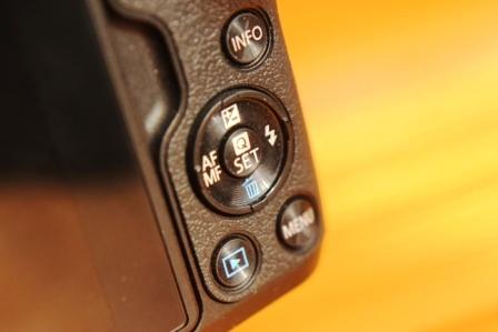 Canon EOS M50 управления кнопки