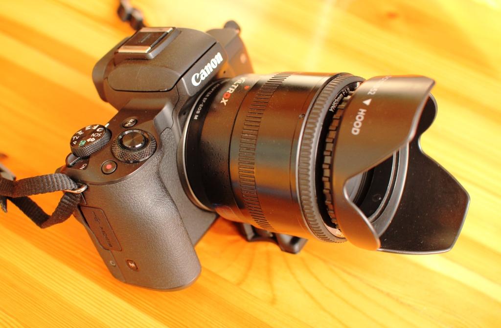 Canon M50 отзывы