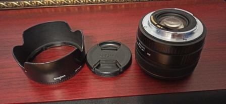 Sigma 30mm f1.4 объектив